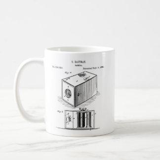 Caneca clássica da câmera de caixa