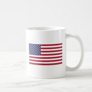 caneca clássica de 11 onças com a bandeira dos EUA