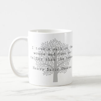 Caneca clássica inspirada de Thoreau