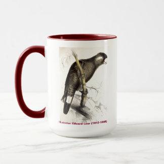 Caneca Cockatoo de Baudins da coleção do pássaro de