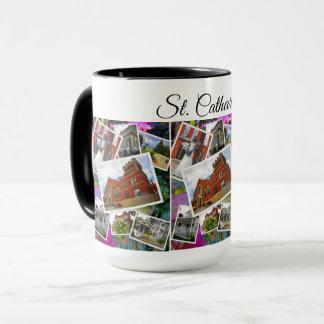 Caneca Colagem da foto do St. Catharines