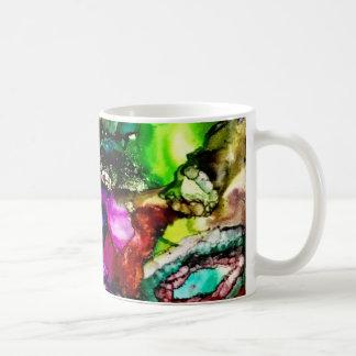 Caneca colorida & vibrante de /Tea do café