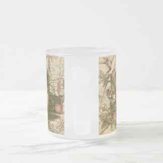 Caneca com design da treliça por William Morris