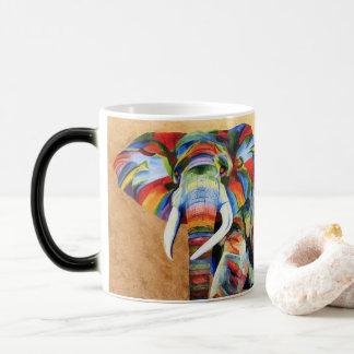 Caneca com design do elefante