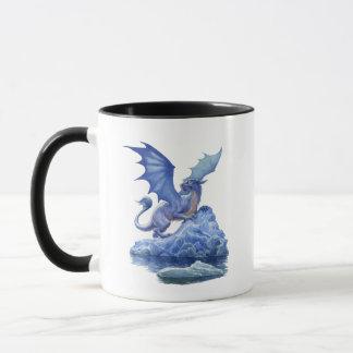 Caneca combinado do dragão do gelo