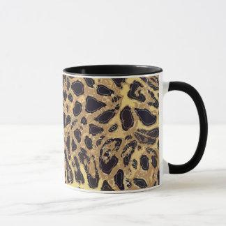 Caneca combinado do leopardo