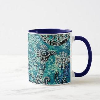 Caneca combinado dos azuis astecas