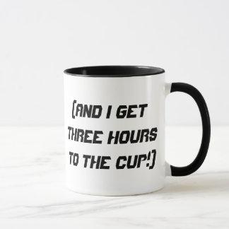 Caneca Combustível da cafeína!