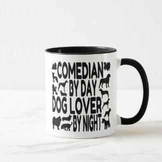 Caneca Comediante do amante do cão