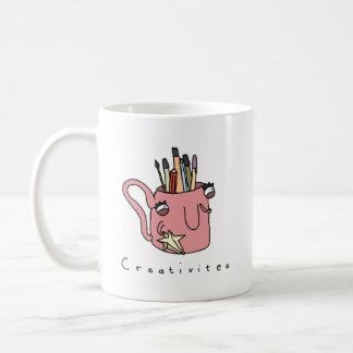 Caneca cómica engraçada do chá de Creativitea |
