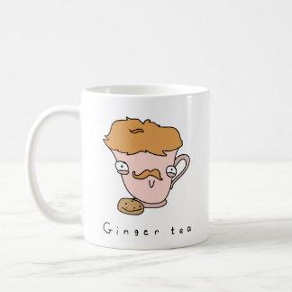 Caneca cómica engraçada do chá do chá | do