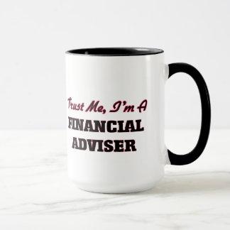 Caneca Confie que eu mim é um conselheiro financeiro