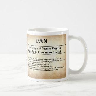 Caneca conhecida do significado - Dan