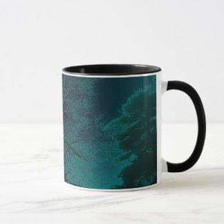 Caneca Copo de café azul da névoa
