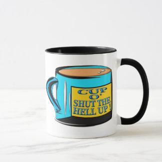 Caneca Copo de café - copo O fechado acima