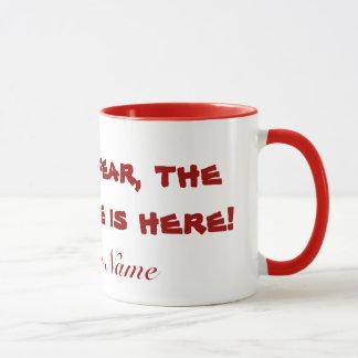 Caneca Copo de café do professor Substitute