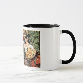 Caneca Copo de café do vintage de México