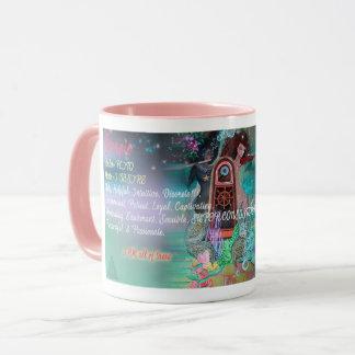 Caneca Copo de café do zodíaco da Escorpião