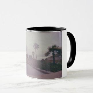 Caneca Copo de café nevoento da manhã de Holga
