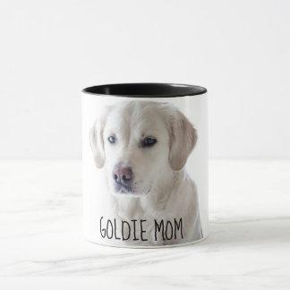 Caneca Copo de café personalizado da mamã do cachorrinho