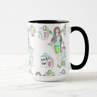 Caneca Copo de café Sewing do cliente