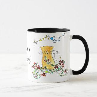 Caneca copo de felino