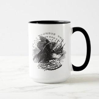 Caneca Copo do design de Eagle do vintage