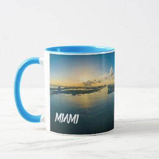 Caneca Copo panorâmico de Miami