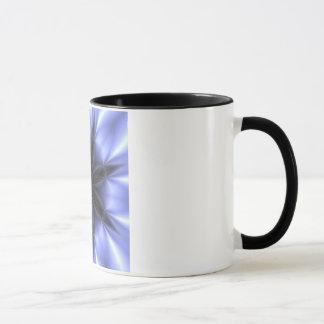 Caneca Copo preto e roxo de Kaleidescope Cofee