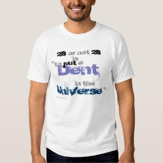 Caneca corajosa do universo do denteamento camiseta