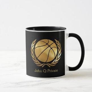 Caneca Costume do ouro do basquetebol