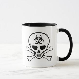 Caneca Crânio & Crossbones do Biohazard