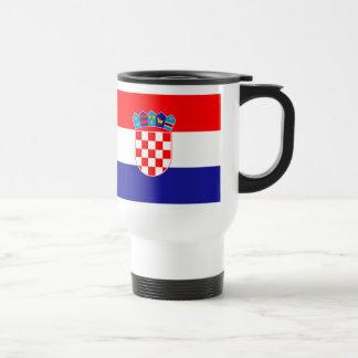 Caneca croata da bandeira