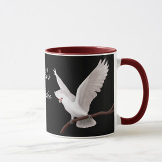 Caneca customizável do Cockatoo de Goffin