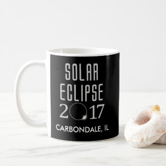 Caneca customizável do eclipse solar 2017