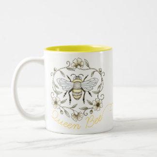 Caneca da abelha de rainha