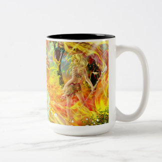 Caneca da água e da chama