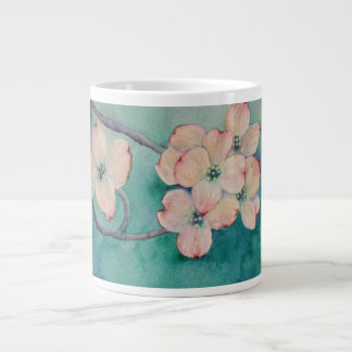 Caneca da aguarela do Dogwood
