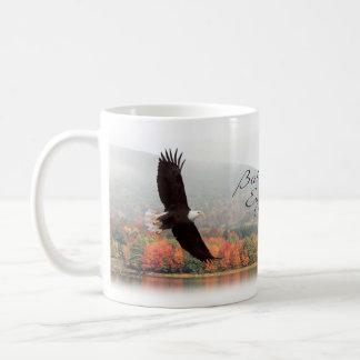 Caneca da águia americana