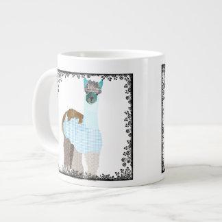 Caneca da arte da alpaca jumbo mug