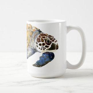 Caneca da arte do animal aquático do mar do oceano