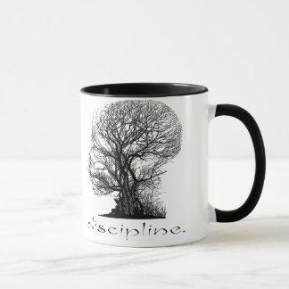 Caneca da árvore da disciplina