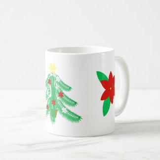 Caneca da árvore de Natal de Ikebana