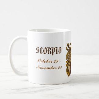 Caneca da astrologia da Escorpião