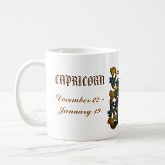 Caneca da astrologia do Capricórnio