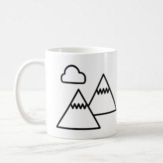 Caneca da aventura da montanha