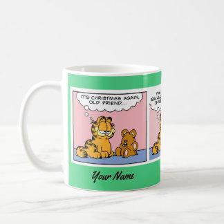 """""""Caneca da banda desenhada de Garfield de um Caneca De Café"""