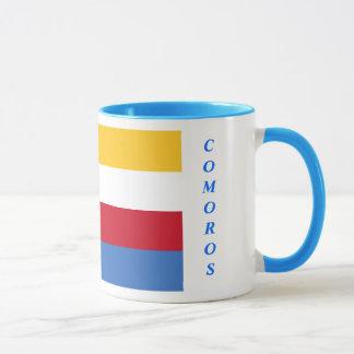 Caneca da bandeira de Cômoros
