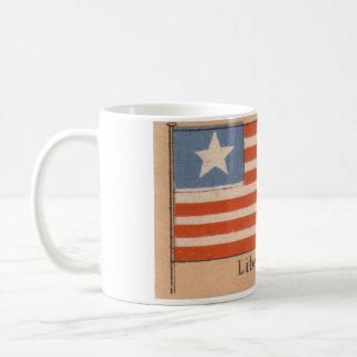 Caneca da bandeira de Liberia