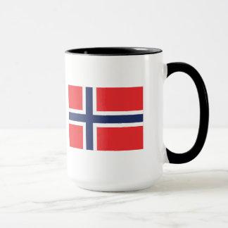 Caneca da bandeira de Noruega